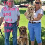 The Sutters and Lulu with Jake